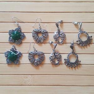 Jewelry - Silver Earrings (Fashion Jewelry) Bundle